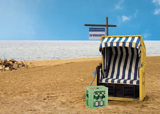 Party im Strandkorb